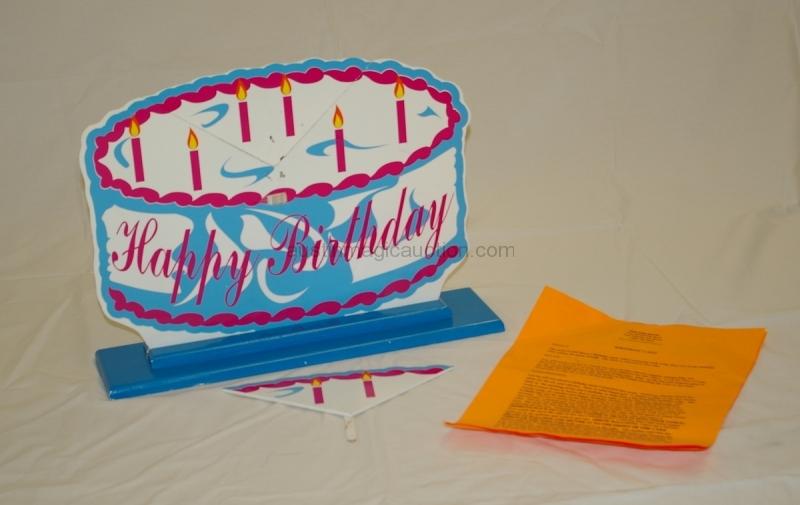 Birthday Cake by Dr. Magic
