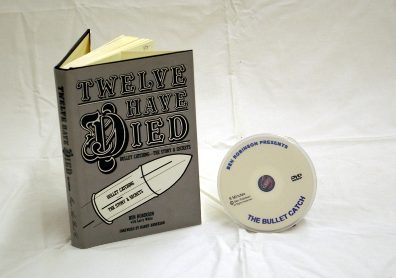 Book - Twelve Have Died - with Bullet Catch DVD