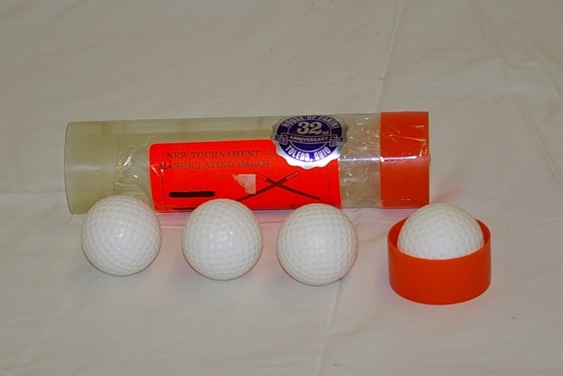 Fakini Multiplying Golf Balls - 3 balls with shell