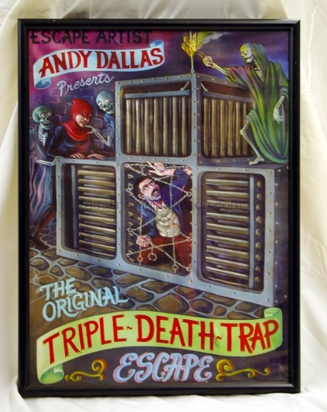 Framed Andy Dallas Poster