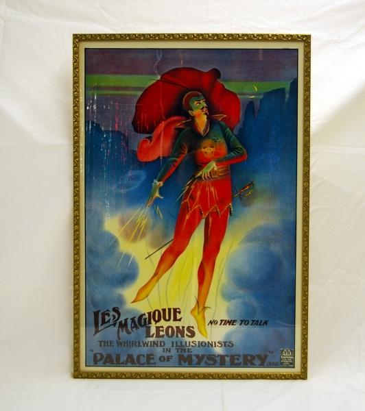 Framed Les Magique Leons half sheet