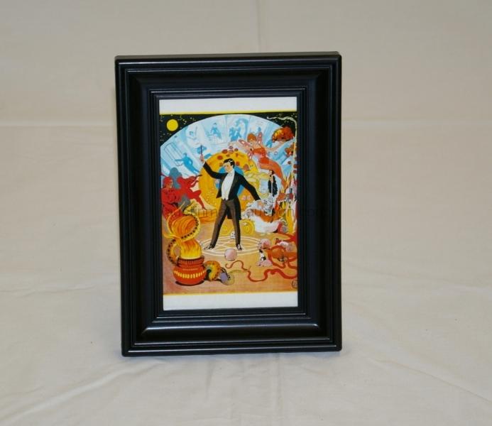 Framed mini magic poster