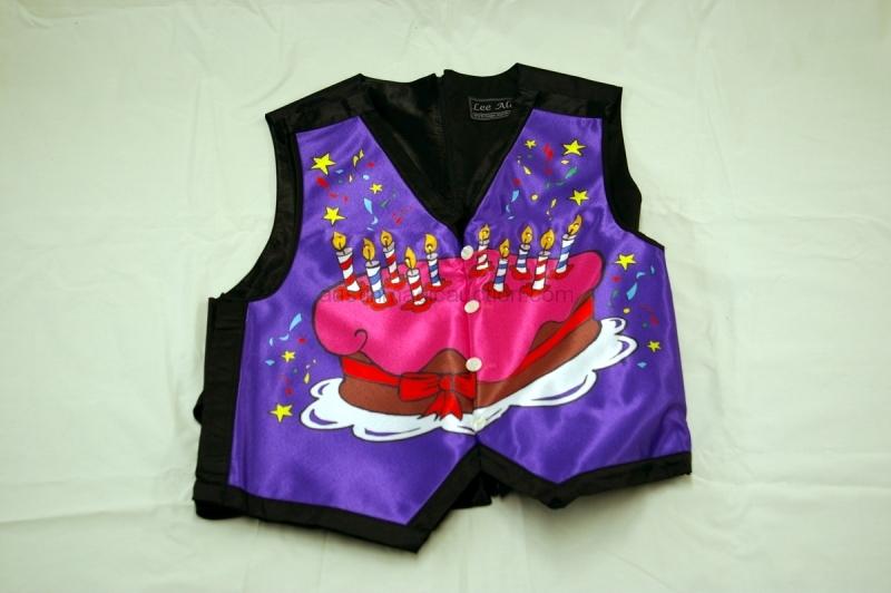 Happy Birthday Waistcoat