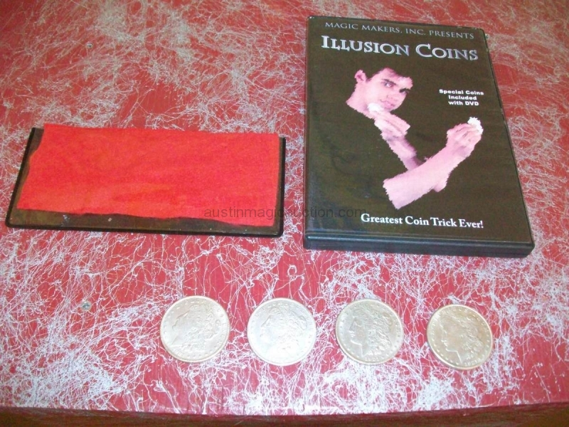 Illusion Coins DVD Kit
