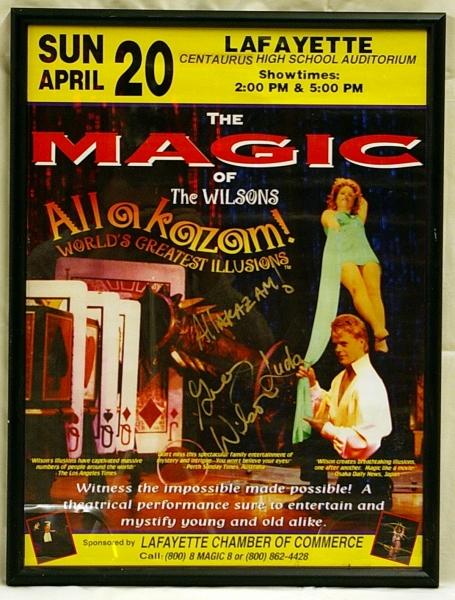 Poster - Magic of Wilsons Alakazam