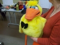 Dazzle Duck Puppet by Axtell