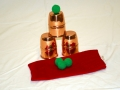 Copper Combo Chop Cup-Cups & Balls Set