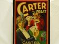 Framed Carter Beats the Devil Window Card