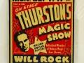 Framed Thurston Magic Show - Will Rock Window Card