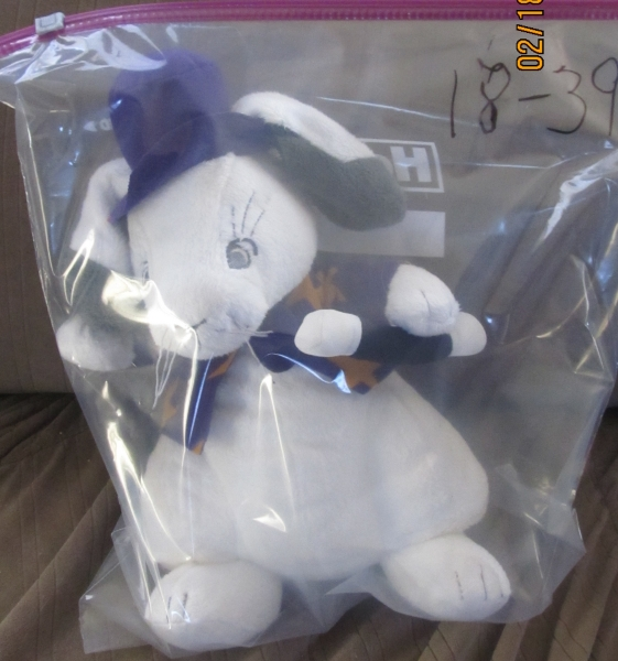 18-39 Plush Magic Bunny