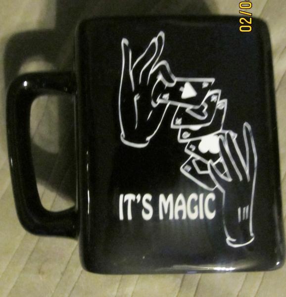 36-15 Black Mug