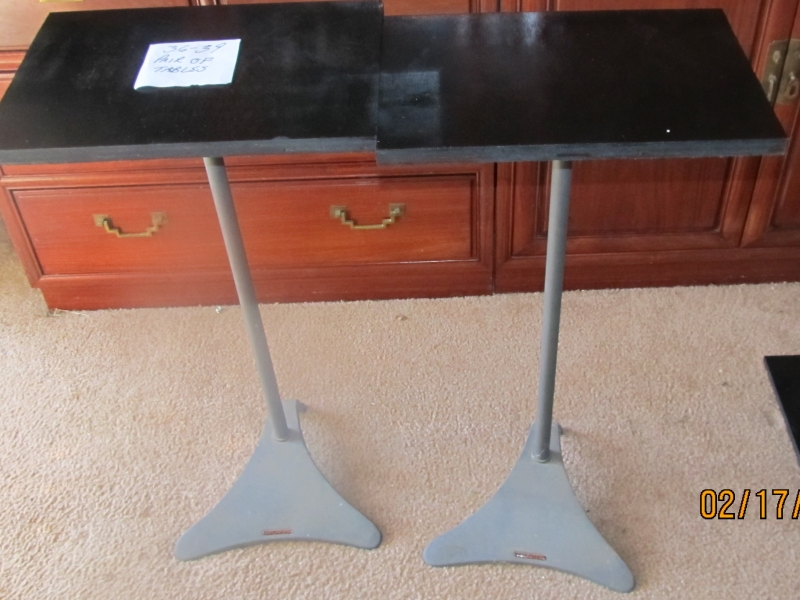 36-39 Pair of Tables
