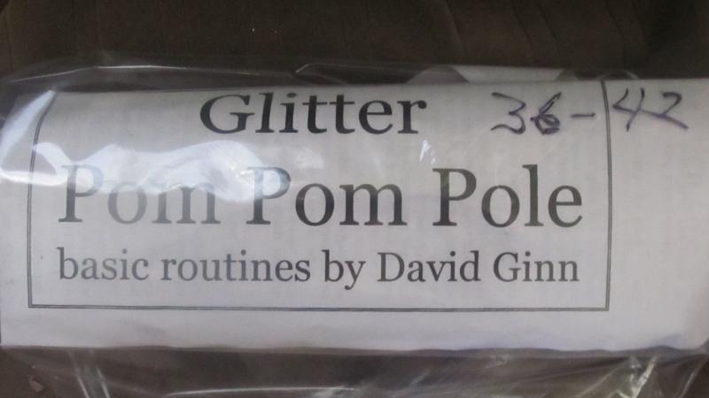 36-42 Glitter Pom-pom Pole