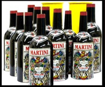 Martini Multiplyin Bottles